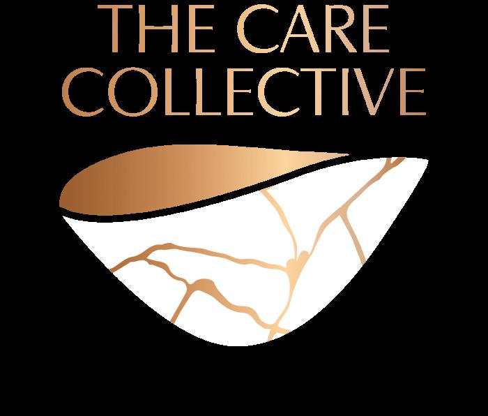 White Enso the care collective logo